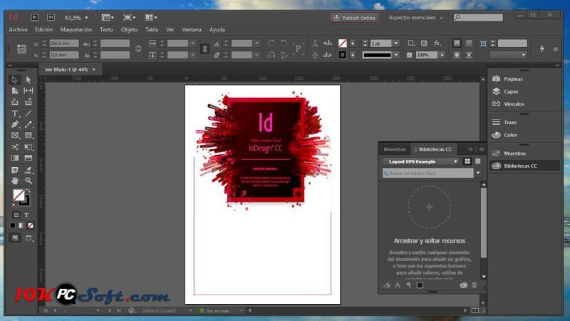 Adobe InDesign CC 2020 Build 15 Free Download