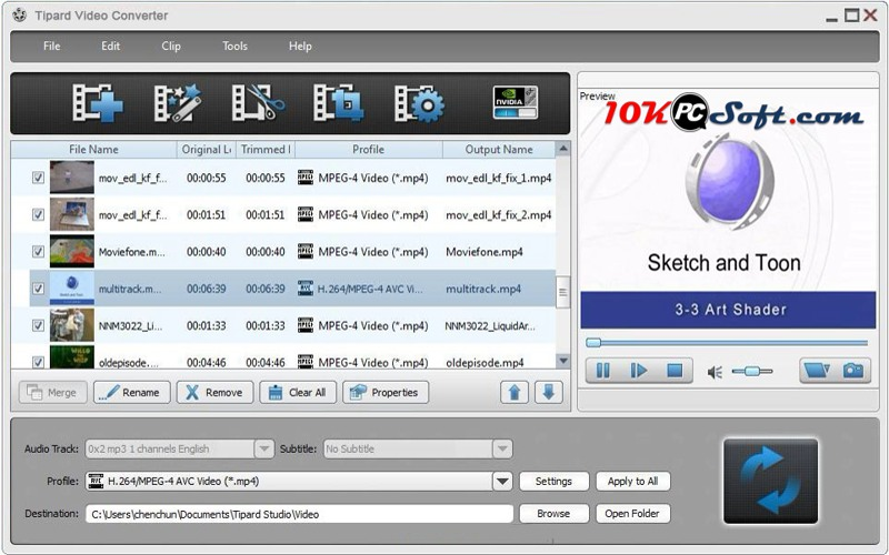 Tipard Video Converter 9.2 latest version Free Download for Windows